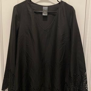 Women's Catalina Black Tunic Size M 8/10